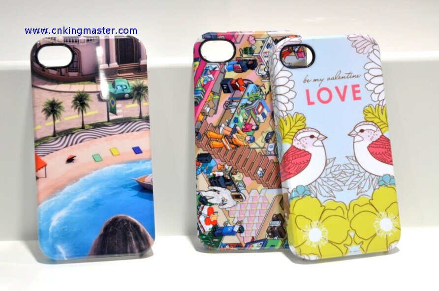 Sublimation 3D phone cases for iphone