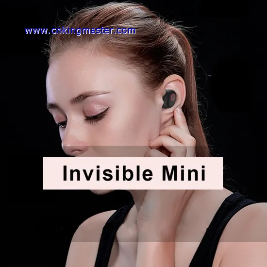 Bluetooth 5.0 Earphones Invisible ...